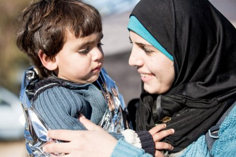 Providing a Safe Space for Refugee Moms and Their Kids in Greece