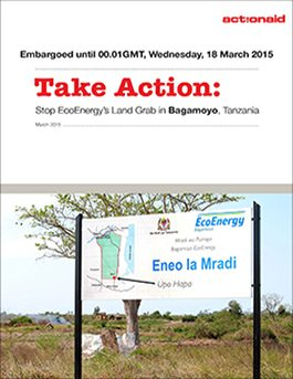 Take Action – Stop EcoEnergy's Land Grab in Bagamoyo, Tanzania