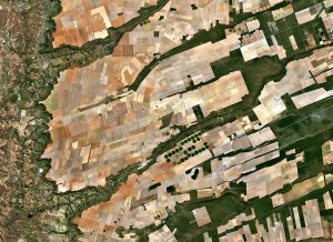 Aerial view of central-eastern Brazil. Photo: European Space Agency