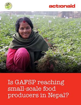Is GAFSP reaching small-scale food producers in Nepal?