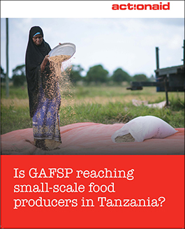 Is GAFSP Reaching Small-Scale Food Producers in Tanzania?