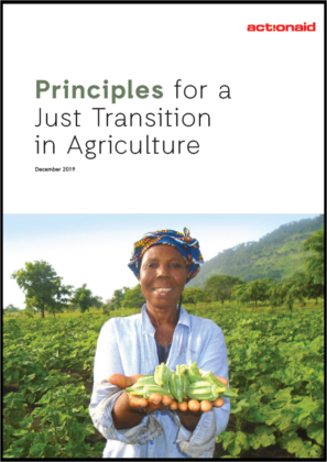 Principles for a Just Transition in Agriculture