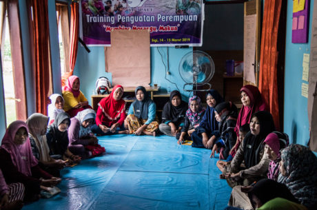 Women-led response to the Sulawesi earthquake and tsunami
