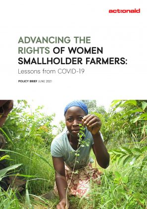 Advancing the rights of women smallholder farmers – lessons from COVID-19