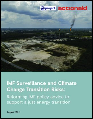 IMF Surveillance and Climate Change Transition Risks: Reforming IMF policy advice to support a just energy transition