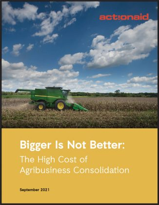 Bigger Is Not Better: The High Cost of Agribusiness Consolidation